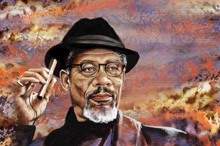 Morgan Freeman por franca64120
